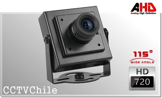 Camara Vehiculo Lateral AHD CamCam XPROHD - Sensor SONY 720p - Antivandalica - Vandalproof - conexion aviacion aviador - IP67 - IP69K - Vandalproof - Weatherproof