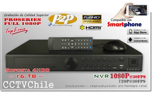 HD-NVR 24ch Front Panel - XPROHD - FULLHD - 1080p - 720p - 16TB