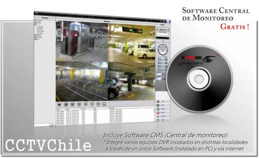 Software de gestion remota NVR - Gratis - VMS - CMS - PSS