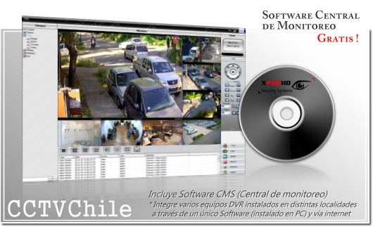 Software de gestion remota NVR 4K- Gratis - VMS - CMS - PSS