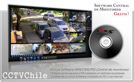 Software de gestion HD-CVR HD-CVI FullHD 1080p 720p VMS CMS PSS IMMS DMMS