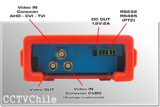 Tester Pro 4.3'' - Tester Hibrido 4K 4MP - Tester CCTV - Tester Camaras - TesterPro Hybrid - Tester WIFI - Tester Touch - TouchScreen - 4.3' pulgadas