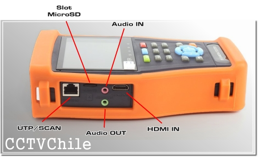 Tester Pro 4.3'' - Tester Hibrido - Tester CCTV - Tester Camaras - TesterPro Hybrid - Tester WIFI - Tester Touch - TouchScreen - 4.3' pulgadas