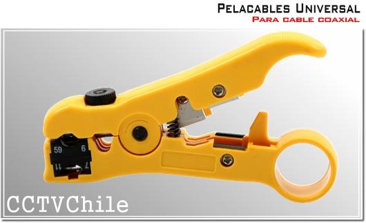 Herramienta pelacables universal RG59 RG6 - Para cable coaxial RG58 RG59 RG6