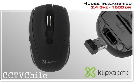 Mouse Wireless Inalambrico DVR CVR NVR - Mouse DVR - Xtech