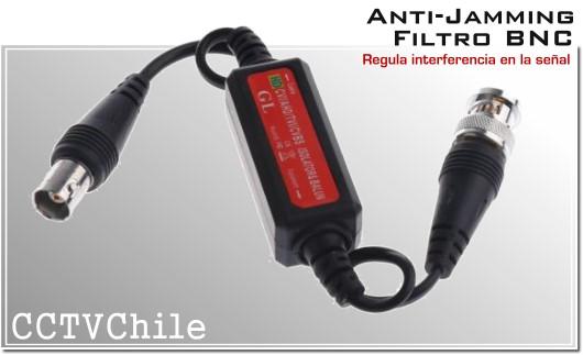 Filtro BNC Anti-Jamming - Ground loop isolator Anti interferencia CCTV