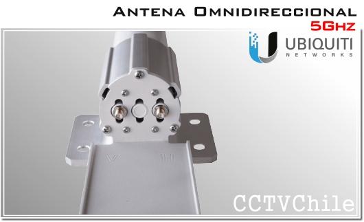 UBIQUITI ANTENA OMNIDIRECCIONAL AMO-5G10 UBIQUITI 5.45 GHz